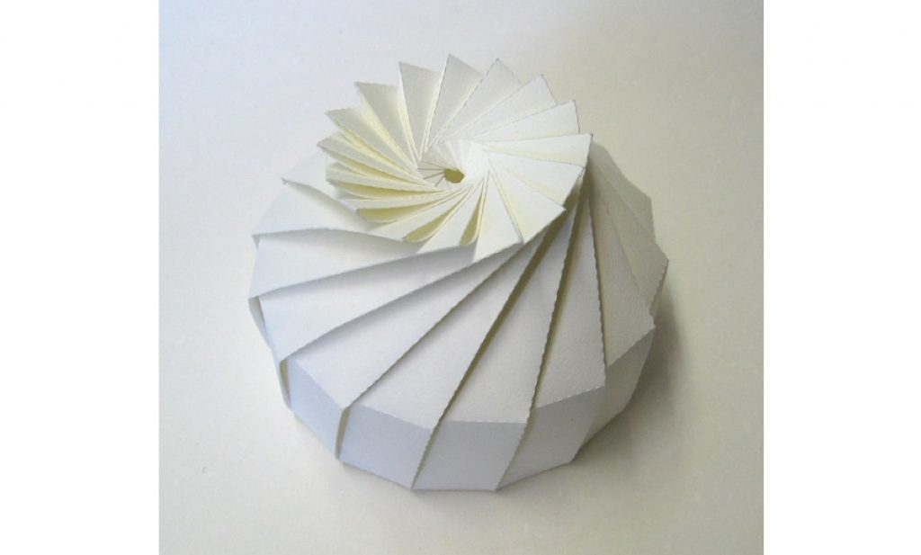 Origami can be seen as a real-world example of a polygon mesh file.