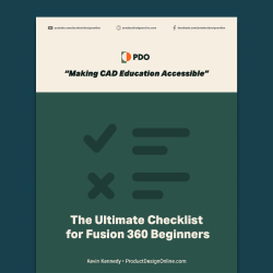 Checklist for Fusion 360 Beginners by Product Design Online